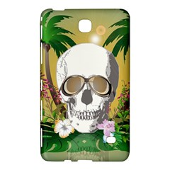 Funny Skull With Sunglasses And Palm Samsung Galaxy Tab 4 (7 ) Hardshell Case