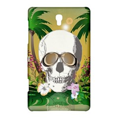 Funny Skull With Sunglasses And Palm Samsung Galaxy Tab S (8.4 ) Hardshell Case