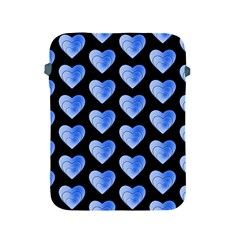 Heart Pattern Blue Apple iPad 2/3/4 Protective Soft Cases