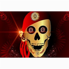 Funny, Happy Skull Collage 12  X 18