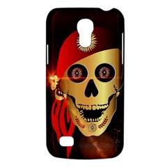 Funny, happy skull Galaxy S4 Mini