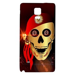 Funny, happy skull Galaxy Note 4 Back Case