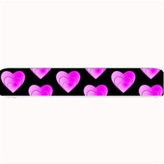 Heart Pattern Pink Small Bar Mats