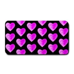 Heart Pattern Pink Medium Bar Mats