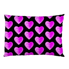 Heart Pattern Pink Pillow Cases