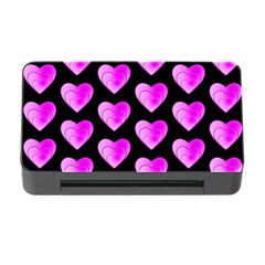 Heart Pattern Pink Memory Card Reader with CF