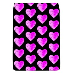 Heart Pattern Pink Flap Covers (L)