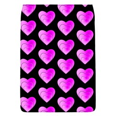 Heart Pattern Pink Flap Covers (s)