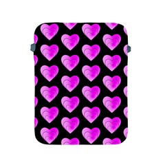 Heart Pattern Pink Apple iPad 2/3/4 Protective Soft Cases
