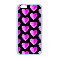 Heart Pattern Pink Apple Seamless iPhone 6 Case (Color)