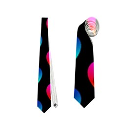 Heart Pattern Rainbow Neckties (one Side)