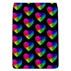 Heart Pattern Rainbow Flap Covers (S)
