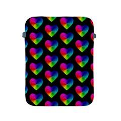 Heart Pattern Rainbow Apple iPad 2/3/4 Protective Soft Cases