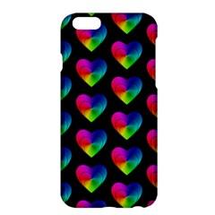 Heart Pattern Rainbow Apple iPhone 6/6S Plus Hardshell Case