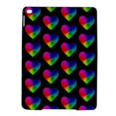 Heart Pattern Rainbow iPad Air 2 Hardshell Cases