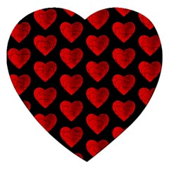 Heart Pattern Red Jigsaw Puzzle (Heart)