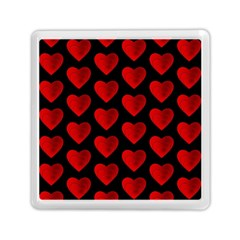Heart Pattern Red Memory Card Reader (square)