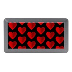 Heart Pattern Red Memory Card Reader (mini)