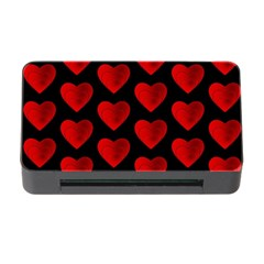 Heart Pattern Red Memory Card Reader with CF