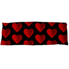 Heart Pattern Red Body Pillow Cases Dakimakura (two Sides)