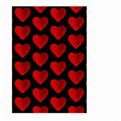 Heart Pattern Red Large Garden Flag (Two Sides)