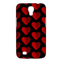 Heart Pattern Red Samsung Galaxy Mega 6.3  I9200 Hardshell Case