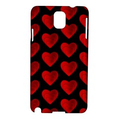 Heart Pattern Red Samsung Galaxy Note 3 N9005 Hardshell Case