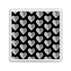 Heart Pattern Silver Memory Card Reader (square)