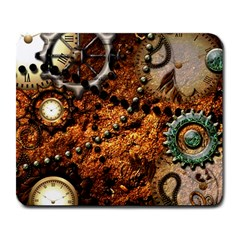 Steampunk In Noble Design Large Mousepads