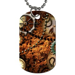 Steampunk In Noble Design Dog Tag (One Side)