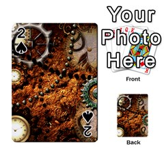 Steampunk In Noble Design Playing Cards 54 Designs