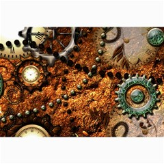 Steampunk In Noble Design Collage 12  x 18