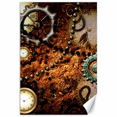 Steampunk In Noble Design Canvas 12  x 18