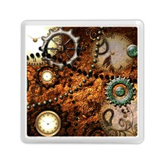 Steampunk In Noble Design Memory Card Reader (Square)