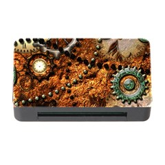 Steampunk In Noble Design Memory Card Reader With Cf