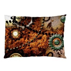 Steampunk In Noble Design Pillow Cases (Two Sides)