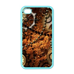 Steampunk In Noble Design Apple iPhone 4 Case (Color)