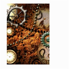 Steampunk In Noble Design Large Garden Flag (Two Sides)