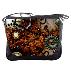 Steampunk In Noble Design Messenger Bags