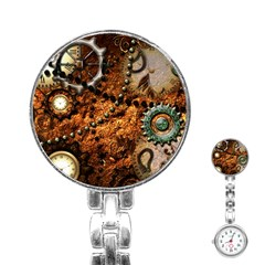 Steampunk In Noble Design Stainless Steel Nurses Watches