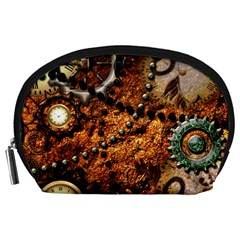 Steampunk In Noble Design Accessory Pouches (Large)