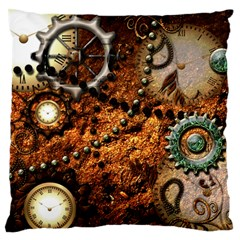 Steampunk In Noble Design Standard Flano Cushion Cases (two Sides)