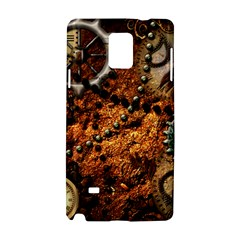 Steampunk In Noble Design Samsung Galaxy Note 4 Hardshell Case
