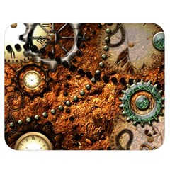 Steampunk In Noble Design Double Sided Flano Blanket (medium)