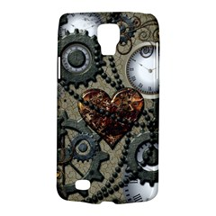 Steampunk With Clocks And Gears And Heart Galaxy S4 Active
