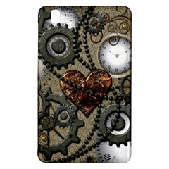 Steampunk With Clocks And Gears And Heart Samsung Galaxy Tab Pro 8.4 Hardshell Case