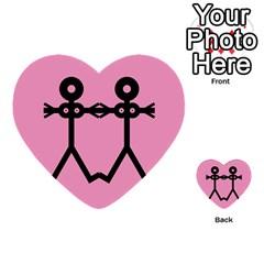 Love Women Icon Multi Purpose Cards (heart)