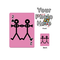 Love Women Icon Playing Cards 54 (Mini)