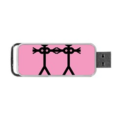 Love Women Icon Portable USB Flash (Two Sides)