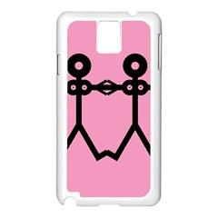 Love Women Icon Samsung Galaxy Note 3 N9005 Case (White)